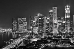 Night Skyline, Singapore City_ 1551
