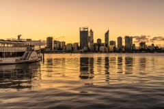 Perth City, sunset from South Perth_9115 B