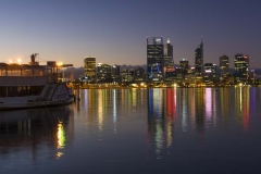 Reflected Twilight, Perth City_ 9151 A