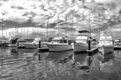 Boats_Panorama1 TC BW