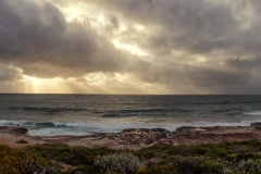 Jakes Point beach Sunset_Panorama 1 A