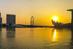 Merlion Sunrise_Panorama