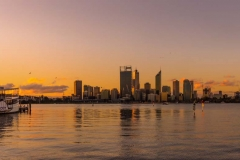 Perth City sunset_Panorama1 crop